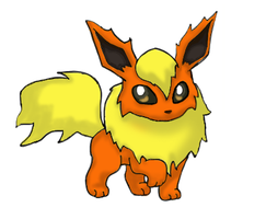 Dusty the Flareon by GoldFlareon