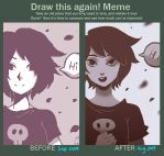 Draw this again [Hi] + Painting Video by Noxmoony