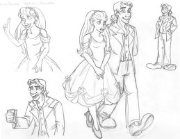 WCMI -spring dance- Doodles by RustyGrass33