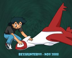 Hang in there Latias by latyle