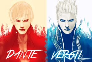 The Sons of Sparda by RickBolandArt