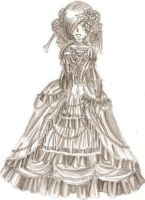 Staccato in victorian dress by Royal-Anime-Club