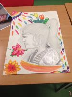 Art Mock Exam - UK School Work (27/11/2015) by Fem-JackFrost