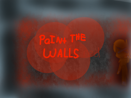 PaINt THE WALLS red by L0-NE