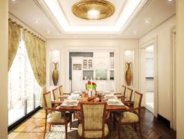 Classic dining room by kasrawy
