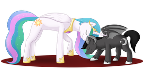 Celestia and Starmoon :commission: by Arcticwaters