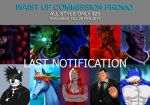 Waist Up Commission (Last Notification) by whiteguardian