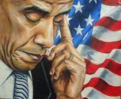 Barack Obama by JeremyOsborne