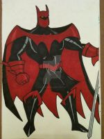 Batman as a Dark Knight by AlPendragon