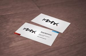 michanczyk.com business cards by PapciuZiom