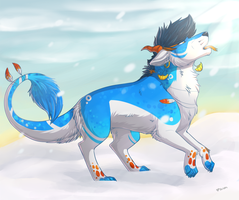 Catching Snow by TalonEX