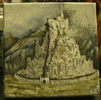 Minas Tirith - edited by Kcie-Aiko