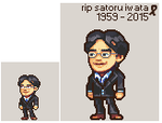 Rest in Peace Iwata by Neoriceisgood