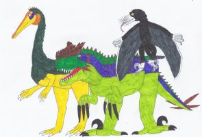 Better Fake Theropods for Everyone by RickRaptor105