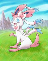 Sylveon by JammerLea