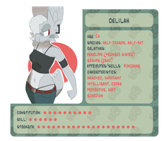 delilah info sheet by polywomple