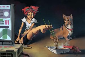 Noodle Feat by rio-armare