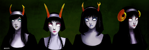 Alphastuck. Nuns. by ANeogyps