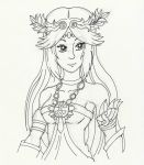 Palutena--- In Progress by TheHypersonic55