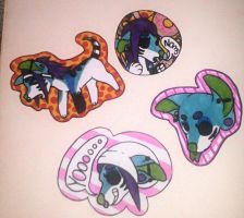 lil badges by WIFI-HOUND