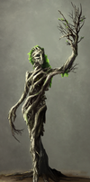 Dryad - MonsterSquad by Neverheidae