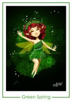 Green Spring Pixie by Queen-Uriel