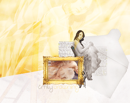 emily browning by beperfectstyle