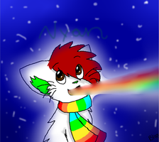 IMMA FIRIN' MAI RAINBOW IN SPACEEEEEEEEEEEEEE by BlixxPixx