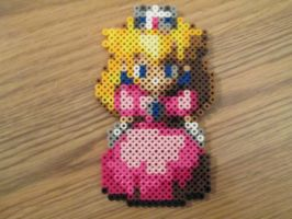 Super Mairo RPG Peach beadsprite by VV-Weegee