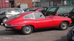 Jaguar E-Type by The-Transport-Guild