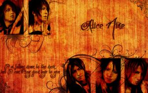 Alice Nine-Waterfall Wallpaper by AHeartCanBurn