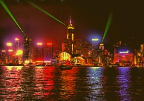 Hong Kong Night Life by montag451
