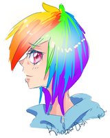 Rainbow Dash by RaiseTheSail
