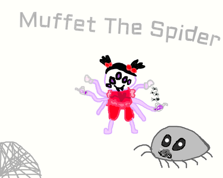 Muffet Undertale by PEACHY2442