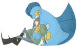 Me and My Swampert by LostPuzzle