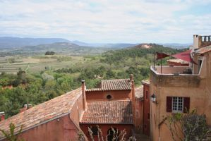 view in roussillon 3 by ingeline-art