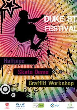 Duke St Festival Poster V7 by HappyG