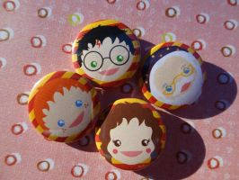 Wizard Power Badges by bethydesigns
