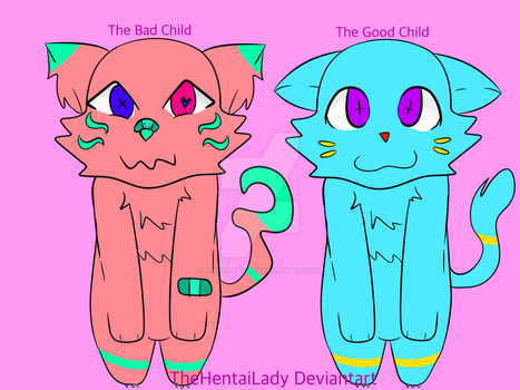 [Points Only] [20 Point Adoptables] [OPEN 2/2] by TheHentaiLady