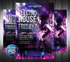 Fridayz Party Flyer Template by Grandelelo