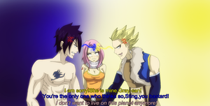 Gratsu Week: Second day *Rival in love* by 0Eka0
