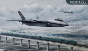 china F-20 leap bomb train by huihui1979