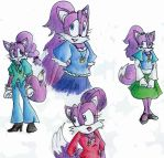 Stefi the fox, 2013 version by stefi-tails