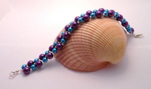 Sultry Bubbles Bracelet by Wirejeweller