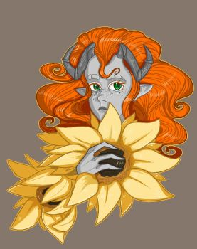 Sunflowers by S-D-Vlad