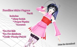 Rondline Mako Nagone - [Note for Download] by Peachy-Pink10