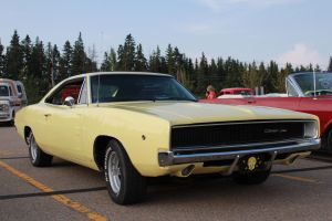 Banana Coloured Mopar by KyleAndTheClassics