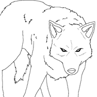 Wolf's Rain Lineart by Bambiiie