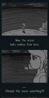 A Desolate Sea by musogato