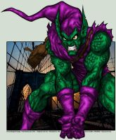 Green Goblin by PokeTheCactus